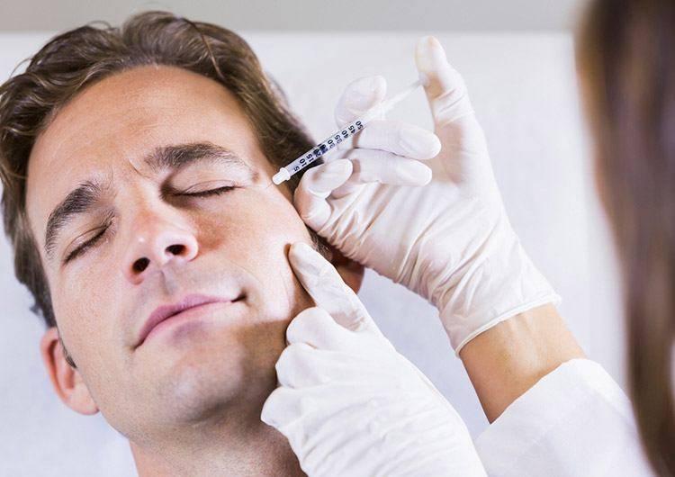 ботулинотерапия для мужчин
